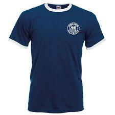 Wigan Casino All Nighter Ringer T-Shirt. Embroidered Logo. Ska, Retro T Shirt.