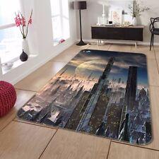 3D Alien World City 733 Non Slip Rug Mat Room Mat Round Elegant Photo Carpet CA