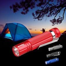 Q5 LED 14500 AA Mini lampe de poche Lampe torche focus Crayon lumière EP