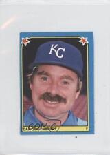 1983 Fleer Baseball Album Stickers Separated #100 Dan Quisenberry Card