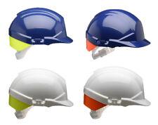 CENTURION Reflex Work Safety Helmet Hard Hat Rear Flash Colour Blue or White New