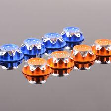 4pcs CNC Dust Proof Wheel Hub Cover Aluminium 17mm For 1:8 RC TEAM C HSP NANDA
