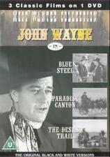 John Wayne Most Wanted-Paradise Canyon / Desert Trail / Blue Steel [DVD], DVD  