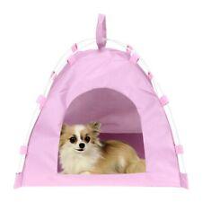 Us Dog Cat Pet Waterproof Tent Teepee House Bed Puppy Sleeping
