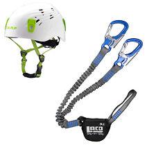 LACD Start Klettergurt Kletterhelm Fuse Kit Klettersteigset Salewa Premium