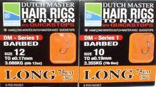 Preston Dutch Master Hair Rigs 75 cm, Method Rigs, Feeder-Vorfächer mit Haar