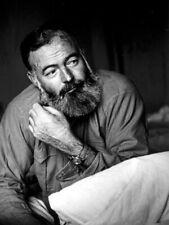 Ernest Hemingway Writer Beard Portrait BW Giant Wall Print POSTER