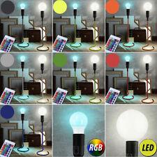 LED table Lumières Chambre à coucher RGB VARIATEUR Télécommande tissu pied