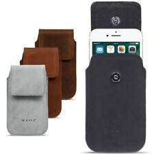 Apple iPhone 8 Plus Leder Tasche Handy Hülle Sleeve Lederhülle Cover Schutzhülle