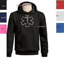 EMT EMS Logo Sweatshirt  Emergency Medical Technician Logo Hoodie SIZES S-3XL