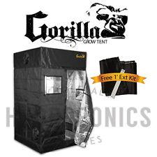 """Gorilla Grow Tent - Best Quality Grow Tent - 12"""" Height Extension - IR Blocker"""