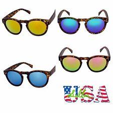 Vintage Retro Sunglasses Round Mirror Lens Eyewear Driving Sports Unisex