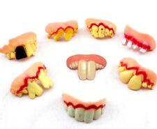 Magic Trick JOKE Fake teeth Realistic Scary Tooth Trick Toys Kids UK SELLER