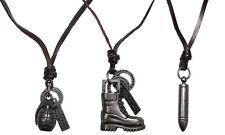 MFH PURE TRASH Halskette Handgranate Stiefel Patrone Kette Anhänger Modeschmuck