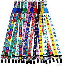 KINDERHOSENTRÄGER Kinder Stretch Hosenträger für Hosen Jeans 1-3 Jahre °NEU°  w
