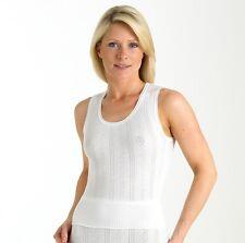 Mujer brettles de tirantes, Camiseta 100% Algodón BUILT Dar Cuerda hombro m, L,