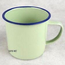 Handmade Enamel Cup Mug Drinking Coffee Beer Tea Camping Vintage 8cm