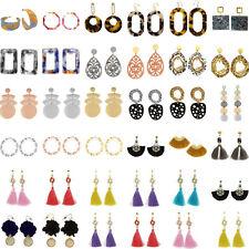 Women Statement Earrings Boho Geometric Ear Stud Drop Dangle Fashion Jewelry