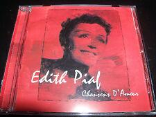Edith Piaf Chansons D' Amour CD CD Like New/Mint