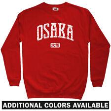 Osaka Japan Sweatshirt - Orix Buffaloes Gamba Cerezo Baseball Crewneck Men S-3XL