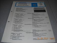 TELEFUNKEN Kofferradio banjo automatic 205 Service Manual