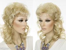 Medium Blonde Brunette Red Straight Wavy Wigs