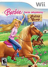 Brand New Sealed Barbie Horse Adventures: Riding Camp (Nintendo Wii, 2008)
