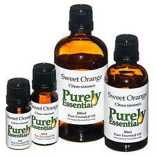 Sweet Orange Essential Oil Certified 100% Pure & Natural 5ml 10ml 50ml 100ml