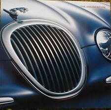 1999 Jaguar S-Type Catalog Brochure 99 Jag STYPE