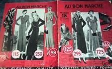 """CATALOGUE """"AU BON MARCHE"""" 1921"""