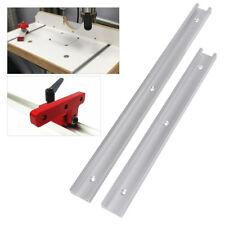 300mm/400mm Lega di Alluminio T-Track T-Slot Traccia per Lavorazione Legno