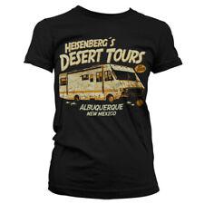 T-shirt FEMME Noir BREAKING BAD Camping car Taille S M L Girlie heisenberg