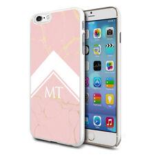 personnalisé marbre étui de téléphone pour apple Samsung Initiale Texte Nom - 78