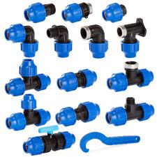 PP-Fitting Verschraubung  für PE-Rohr Kupplungen Abzweig Trinkwasser Winkel DVGW