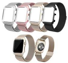 correa FUNDA Magnético milanesa par Apple Watch banda malla 38 42mm iWatch 1 2 3
