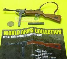 1:6 Scale Action Figure WW2 GERMAN ARMY MACHINE GUN MODEL SMG MP41 Ftoys_#2
