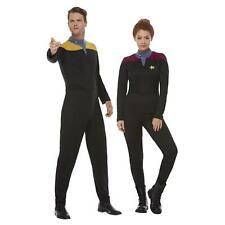 Star Trek Voyager Janeway Mens Womens Jumpsuit Uniform Fancy Dress Costume