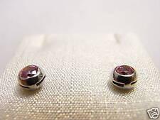 orecchini argento rosa 3,5 c Earrings Swarovski stone