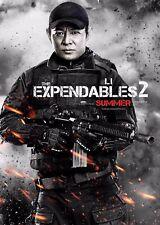Los Indestructibles 2 la película Poster-Jet Li-opción 13-A4 y A3