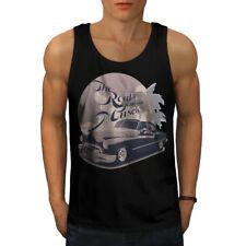 American Muscle Car Car Men Tank Top NEW | Wellcoda