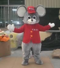 Halloween Cartoon Mouse Mascot Costume Adult Cosplay Party Aniimal Fancy Dress