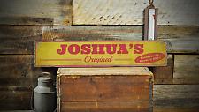 Custom Original Brewed Beer - Rustic Handmade Vintage Wooden Sign ENS1001169