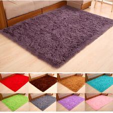 Fluffy Area Rugs Living Room Bedroom Floor Carpet Mats Home Decor Shaggy