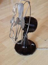 vintage old desk fan art deco bakélite machine age industrial ventilator antique