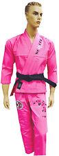 Woldorf USA BJJ Jiu Jitsu gi Pearl Weave for Women Competition Pink competition