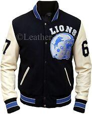 Beverly Hills Cop Axel Foley los Leones De Detroit deportivo de colección chaqueta de Letterman