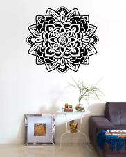 Mandala Flower Floral Transfer Wall Art Sticker Decal Home Decor FL21