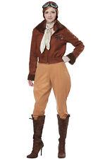 Amelia Earhart/Aviator Pilot Adult Costume