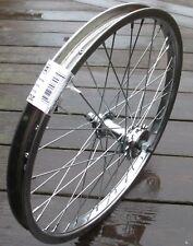 Wheel Rear Bicycle 20 x 1.75 STEEL BMX Chrome Plated Wheel 36 Spoke Freewheel