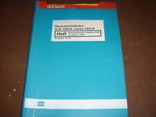 Werkstatthandbuch VW Golf III Automatisches Getriebe